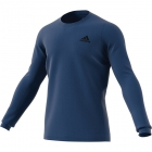 Adidas Men's HEAT.RDY Longsleeve Tennis Tee (Tech Indigo/Night Metallic) -