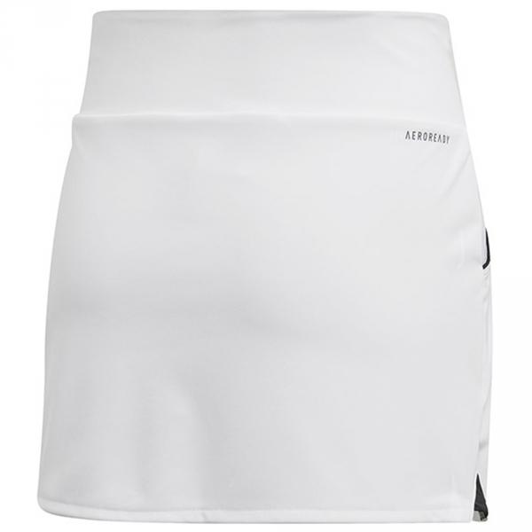 Adidas Junior Girls Club Tennis Skirt (White)