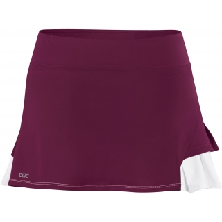 DUC Flirt Women's Tennis Skirt (Maroon)