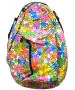 Jet Flower Power White Knock Off Backpack - Jet Knock Off Bags