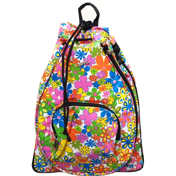 Jet Flower Power White Sack Bag