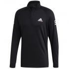 Adidas Men's Club Tennis Midlayer (Black/White/Black) -