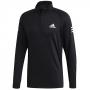 Adidas Men's Club Tennis Midlayer (Black/White/Black)