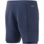 Adidas Men's HEAT.RDY 2in1 7 Inch Tennis Shorts (Tech Indigo/Dash Green)