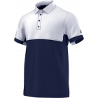Adidas Men's T16 CC Team Tennis Polo (Navy/White) - Men's Tennis Apparel