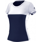 Adidas Women's T16 CC Team Tennis Tee (Navy/White) - Adidas Apparel
