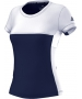 Adidas Women's T16 CC Team Tennis Tee (Navy/White) - MAP Products