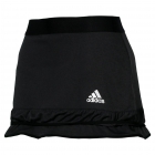 Adidas Women's Climachill Skort Tennis Apparel (Black / Silver) - Women's Tennis Apparel