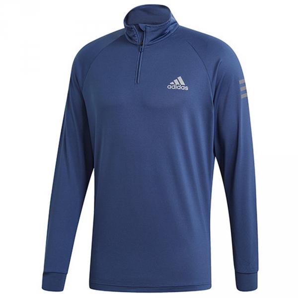 Adidas Men's Club Tennis Midlayer (Tech Indigo)