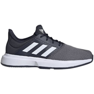 Adidas Men's GameCourt Tennis Shoes (Legend Ink/White/Legend Ink)