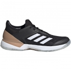 Adidas Women's Adizero Ubersonic 3 Tennis Shoe (Core Black/Cloud White/Copper Metallic) - Adidas adiZero Tennis Shoes