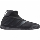 Adidas Men's Stycon Laceless Clay Tennis Shoes (Core Black/Night Metallic/Grey) - 6-Month Warranty Shoes