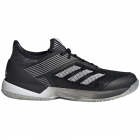 Adidas Women's Adizero Ubersonic 3 Clay Tennis Shoes (Black/White/Core Black) - How To Choose Tennis Shoes