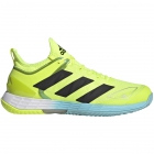 Adidas Men's Adizero Ubersonic 4 Tennis Shoes (Yellow/Core Black/Hazy Sky) -