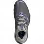 Adidas Women's SoleMatch Bounce Tennis Shoe (Grey Four/Silver Metallic/Grey Two)