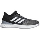 Adidas Men's Adizero Ubersonic 3.0 Tennis Shoes (Black/White/Light Granite) - Men's Tennis Shoes