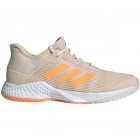 Adidas Women's Adizero Club Tennis Shoes (Linen/Flash Orange/White) - Adidas adiZero Tennis Shoes