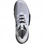 Adidas Men's SoleMatch Bounce Tennis Shoe (White/Core Black)