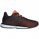 Adidas Men's SoleMatch Bounce Tennis Shoe (Black/Solar Orange) - Shop the Best Selection of Tennis Shoes for Any Court Surface