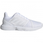 Adidas Women's CourtJam Bounce Tennis Shoes (White/Matte Silver) - Adidas Shoe Sale. Save on New Shoes for the Family