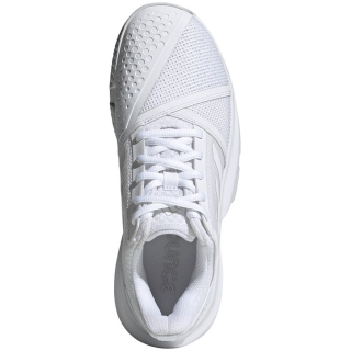 Adidas Women's CourtJam Bounce Tennis Shoes (WhiteMatte Silver) $73.95