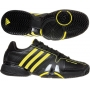Adidas Barricade 7 Mens Tennis Shoes (Black/ Yellow)