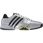 Adidas Barricade 7 Mens Shoes (Sil/ Blk/ Ylw) - Adidas Barricade Tennis Shoes