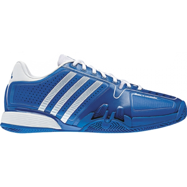Adidas Barricade 7 Men's Clay Tennis Shoes (Prime Blue/ Running White)