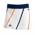 Adidas Women's Roland Garros Tank Skort (White/ Navy) - Adidas Women's Apparel Tennis Apparel