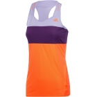 Adidas Womens Response Tennis Tank (Orange/ Purple) - Adidas Women's Apparel Tennis Apparel