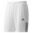 Adidas Men's Galaxy Shorts (White/ Black) - Men's Shorts Tennis Apparel