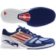 Adidas Men's CC adiZero Feather II Tennis Shoes (Red/ White/ Blue) - Lightweight Tennis Shoes