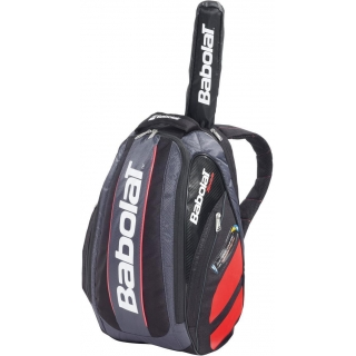 Babolat Team Backpack (Black/ Bright Red)