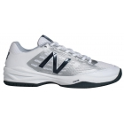 New Balance Men's MC896WB1 (D) Tennis Shoes (White/Silver/Navy) - New Balance Tennis Shoes