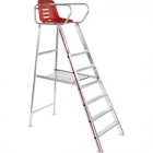 Gamma Aluminum Tennis Umpire Chair - Gamma Tennis Equipment