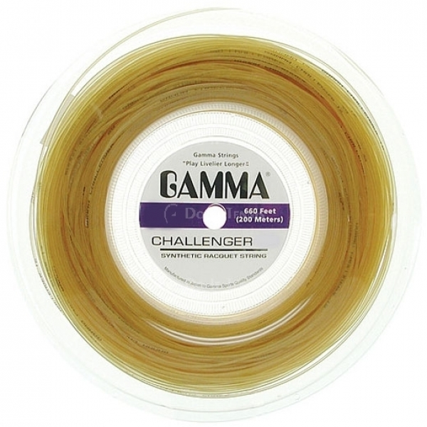Gamma Challenger Synthetic Gut 17g (Reel)