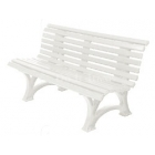 Gamma Deluxe Tennis Polybench (White or Green) - Tennis Benches