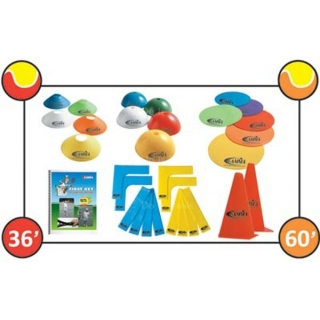 Gamma FS Court Marker Kit (36'/60' Courts)