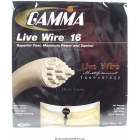 Gamma Live Wire 16g (Set) - Arm Friendly Strings
