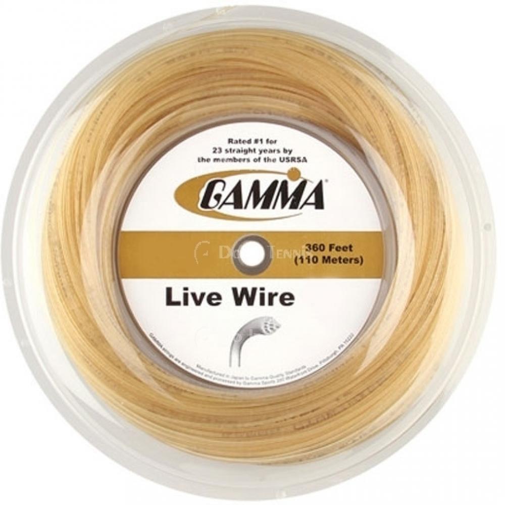 Gamma Live Wire 17g Tennis String (Reel)