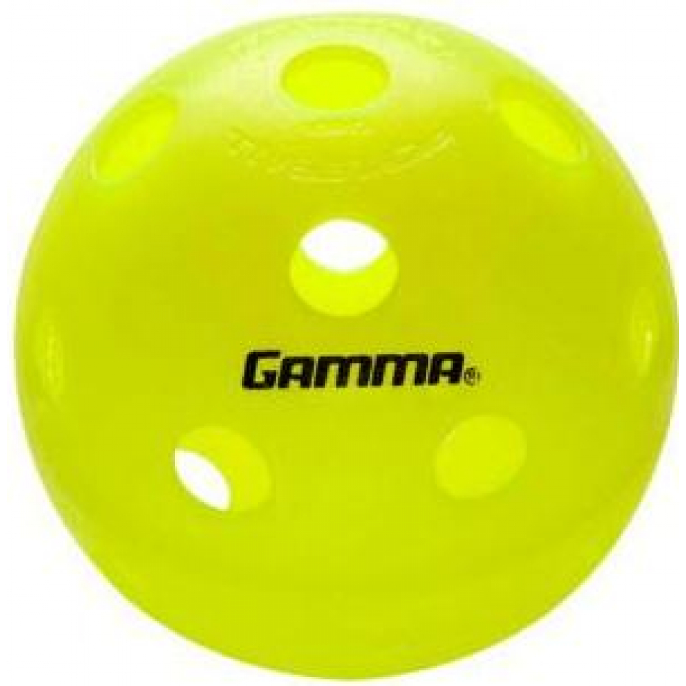 Gamma Photon High-Visbility Pickleballs, 3-Pack (Indoor)