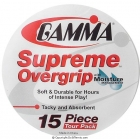 Gamma Supreme Overgrip 15-Pack - Best Sellers