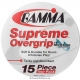 Gamma Supreme Overgrip 15-Pack - Tacky Over Grips
