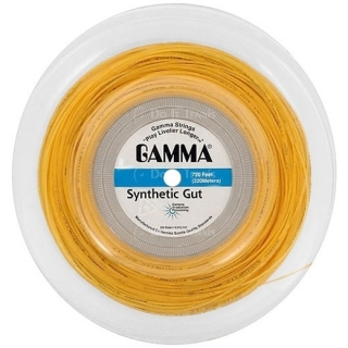 Gamma Synthetic Gut 17g Tennis String (Reel)
