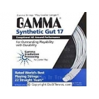 Gamma Synthetic Gut 17g (Set) - Tennis String