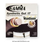 Gamma Synthetic Gut with Wearguard 17g (Set) - Tennis String