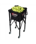Gamma EZ Travel Cart 150 Tennis Ballhopper - Ball Hoppers & Carts that Hold More than 100 Tennis Balls