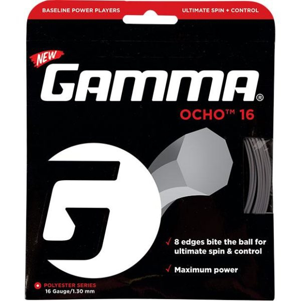 Gamma OCHO 16g Tennis String (Set)