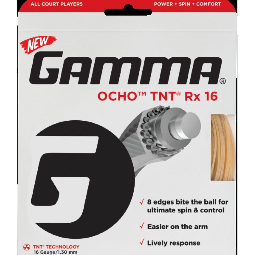 Gamma OCHO TNT Rx 17g Tennis String (Set)