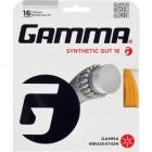 Gamma Synthetic Gut 18g Tennis String (Set) - String on Sale
